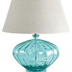 Recycled Glass Melon Lamp